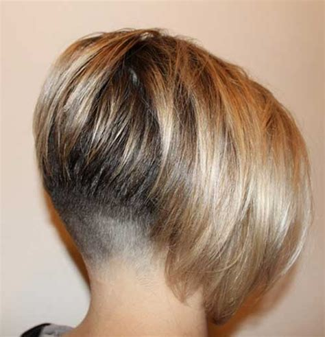short stacked bob haircut shaved 25 short inverted bob hairstyles short hairstyles 2016