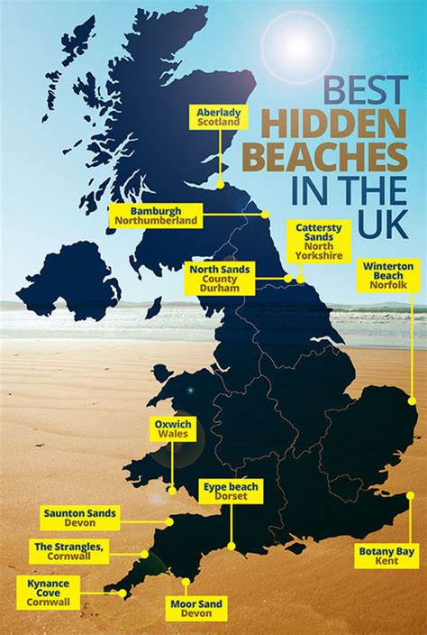 map uk beaches best beaches in the uk spend your 2017 summer at