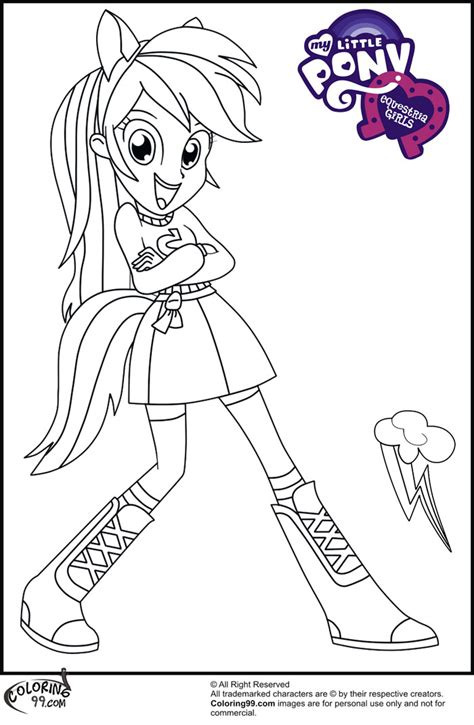My Little Pony Royal Wedding Coloring Pages Equestria Rainbow Dash Coloring Pages Free