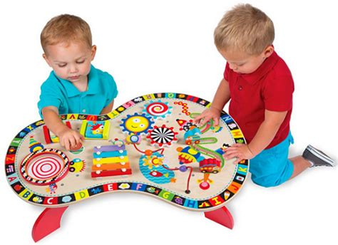 alex toys alex junior sound and play busy table baby
