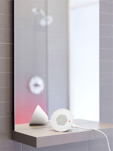 Kohler Shower Speaker by Kohler Moxie Showerhead And Wireless Speaker All In One