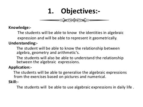 biography lesson plan objectives b ed discussion lesson plan algebric equations by amit