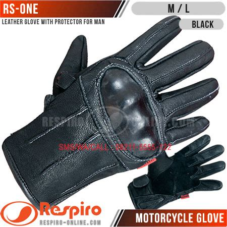 Sarung Tangan Kulit Asli Gloves Genuine Leather Crafted 010 sarung tangan respiro motor kulit glove