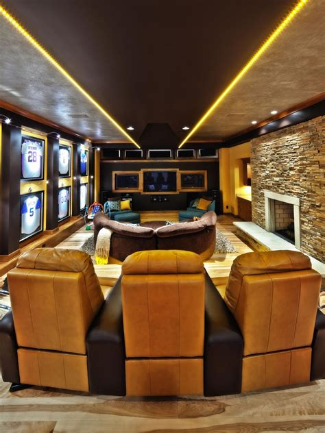 sports home decor 50 best cave ideas and designs for 2017