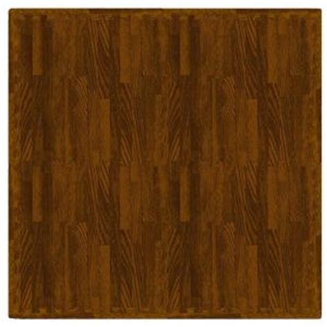 trafficmaster maple wood 24 in x 24 in interlocking foam