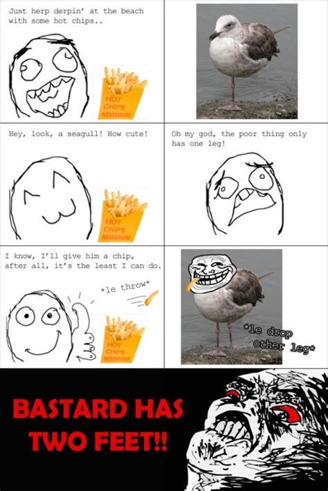 Troll Meme Comics - troll face comic vol 11 the seagull problems by