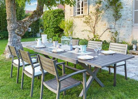 table et chaise de jardin carrefour salle 224 manger de jardin notre s 233 lection