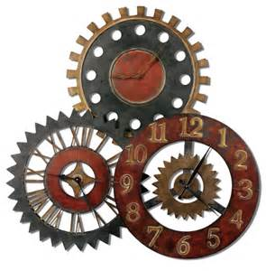 Art Wall Clock Clock Gears Art Www Galleryhip Com The Hippest Pics