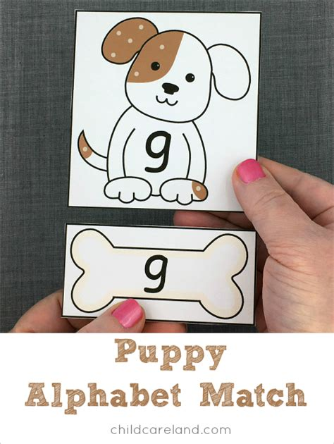 puppy match category letters