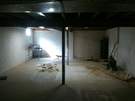 framing basement walls and basement subfloor diy forums