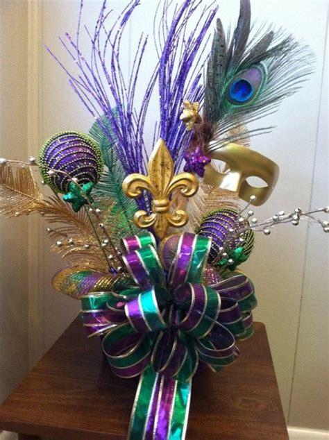 mardi gras centerpiece idea mardi gras decorations