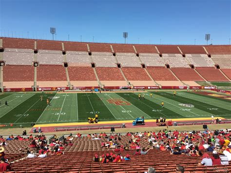 Louisiana Section 8 by Los Angeles Memorial Coliseum Section 8 Rateyourseats