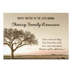 high country family reunion invitation zazzle