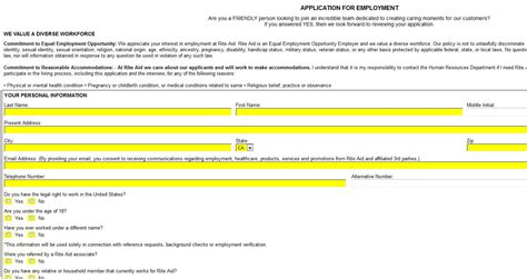 Cvs Pharmacy Apply by Cvs Pharmacy Application Form