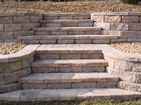 Retaining Wall Stairs Design Retaining Walls Steps And Stairs On Pinterest