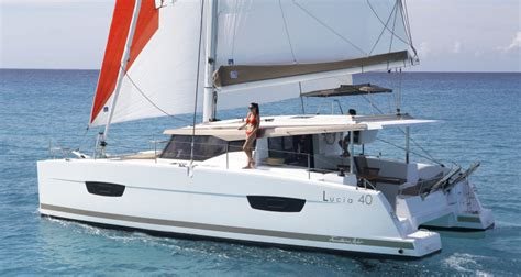 sailing catamaran under 30 feet lucia 40 fountaine pajot