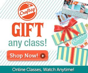 Craftsy Gift Card - last minute gift craftsy gift cards
