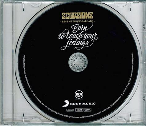 Cd Scorpions Born To Touch Your Feelings Best Of Rock Ballads 2017 0dayrox melodic rock aor rock prog classic rock news scorpions born to touch your
