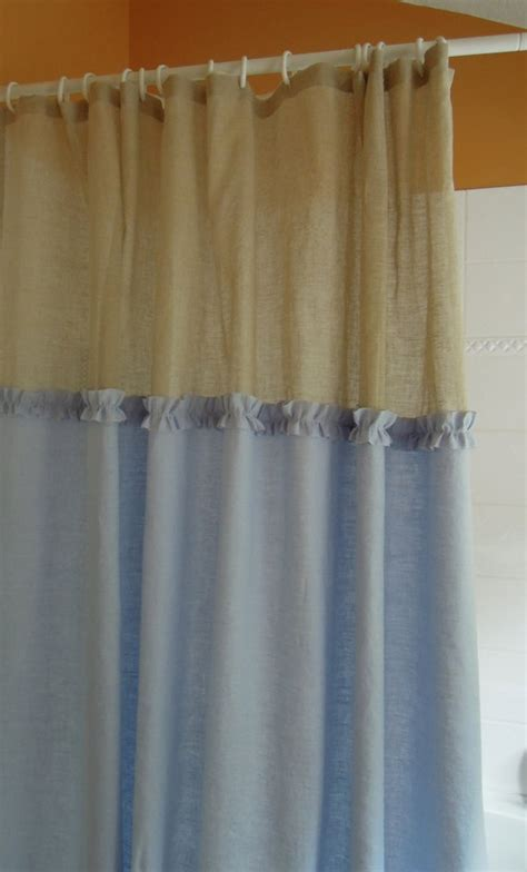 waterfall ruffle shower curtain 1000 images about ruffle shower curtain on pinterest