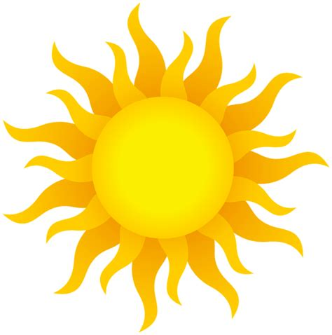 clipart sun clipart realistic pencil and in color