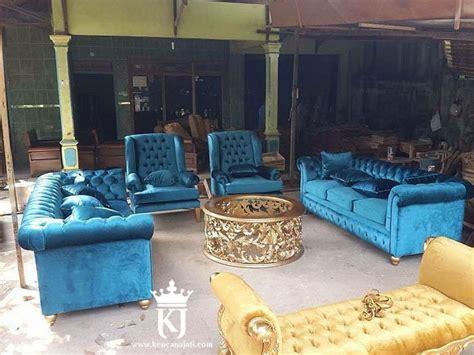 Ganti Jok Kursi Tamu kursi tamu sofa jok mewah cantik kencana jati furniture