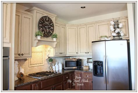 using chalk paint on kitchen cabinets hometalk creating a french country kitchen cabinet