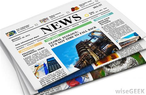 A News Paper - what are the advantages of newspaper advertising