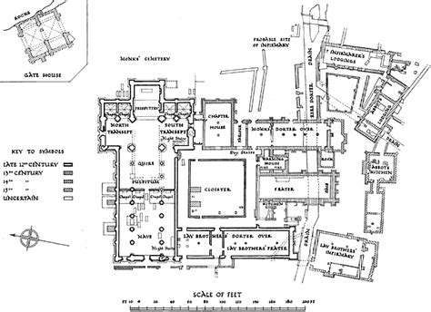 monastery floor plan nottinghamshire history gt j bramley a history of the religious houses in nottinghamshire