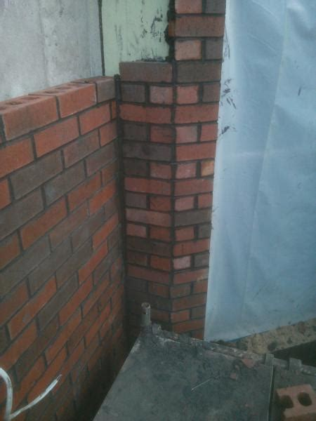 opinions needed   angled brick wall
