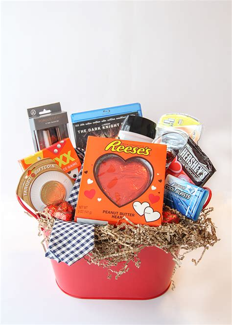 valentines gift baskets him s day gift basket for him busy
