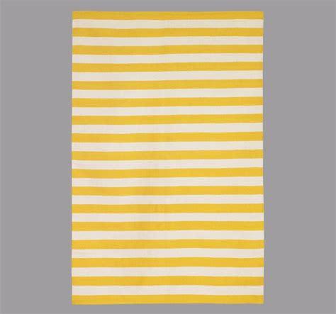 Dwell Rugs draper stripe citrine rug 5x8 by dwell studio