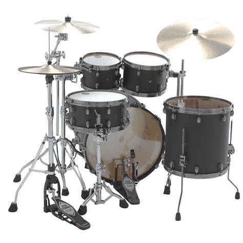 Gitarre Lackieren Lassen Schweiz by Tama Starclassic Maple 22 Quot Flat Black 171 Schlagzeug