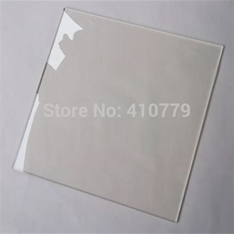 Home Decor Plaques Acrylic Clear Sheets 800x600x6mm