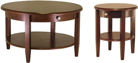 round table concord concord drawer round coffee table from winsomewood