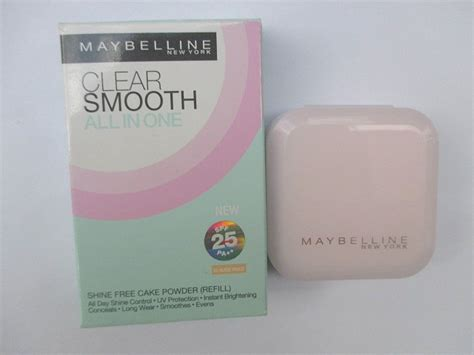 Maybelline Clear Smooth All In One maybelline clear smooth all in one shine free cake powder