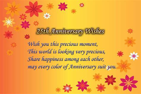 Wedding Anniversary Wishes For Parents In Kannada by 25th Wedding Anniversary Wishes For And