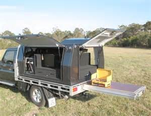 4wd Canopy Designs by Offroad Systems 4wd Drawers Aluminium Lightweight Custom