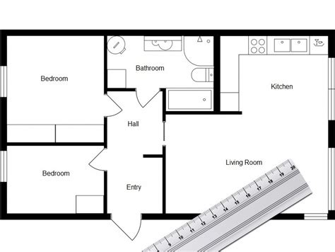 draw a floorplan to scale for free home design software roomsketcher
