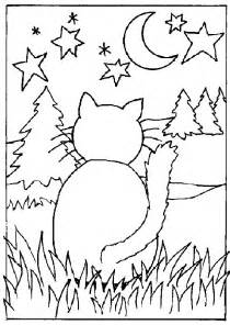 cat color cat coloring pages coloringpages1001