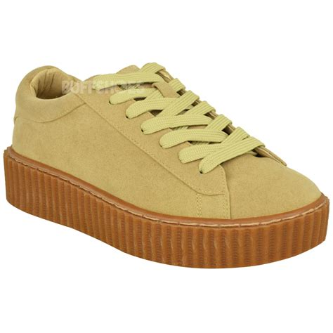 creeper shoes for womens creeper trainers sneakers platform