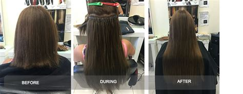 micro bead extensions melbourne micro bead hair extensions in melbourne frika hair boutique