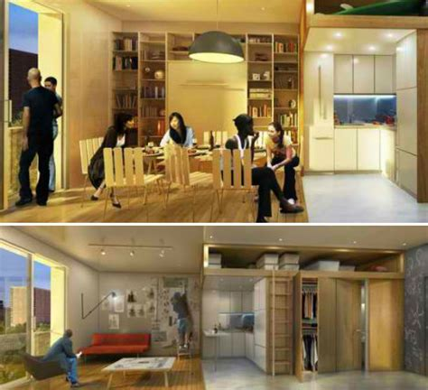 Cheapest Apartment In Manhattan New York Tiny Living Takes In New York City With Micro