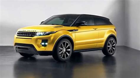 land rover yellow slides 2013 land rover range rover evoque sicilian yellow