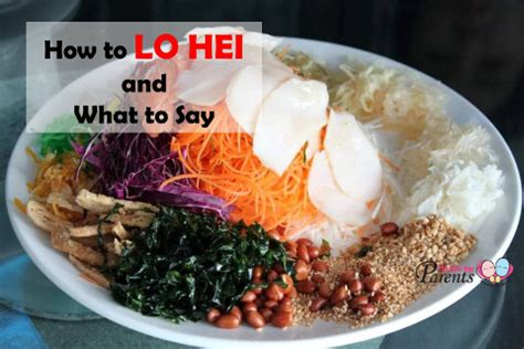 new year lo hei phrases how to lo hei yu sheng