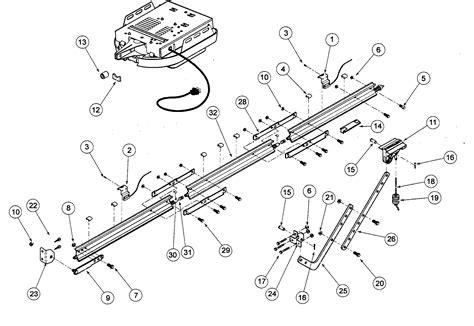 genie garage door opener parts diagram 301 moved permanently