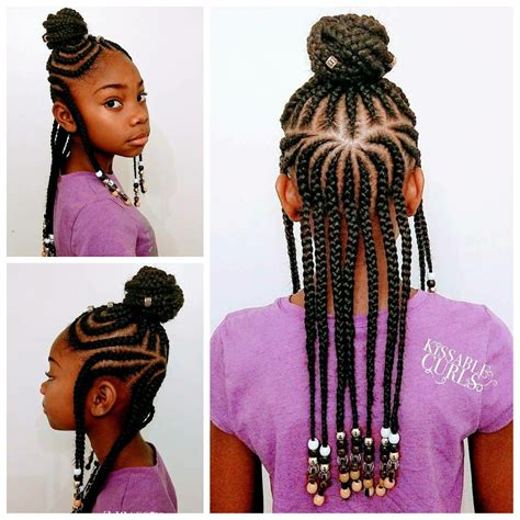 hairstyles with braids and beads fulani inspired braids with beads kissable clients