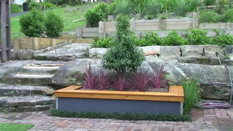 build  garden bed  seat youtube