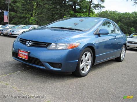 2008 Honda Civic EX L Coupe in Atomic Blue Metallic photo