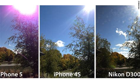 Glow In The F1s iphone 5 users complain about purple photos cnn