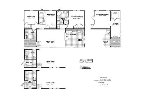 lexington floor plan lexington 3 2 cmh schult mobile homes for sale in san